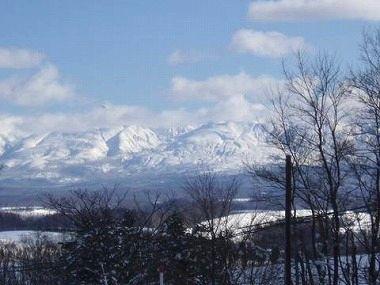 美瑛 大雪山 11月